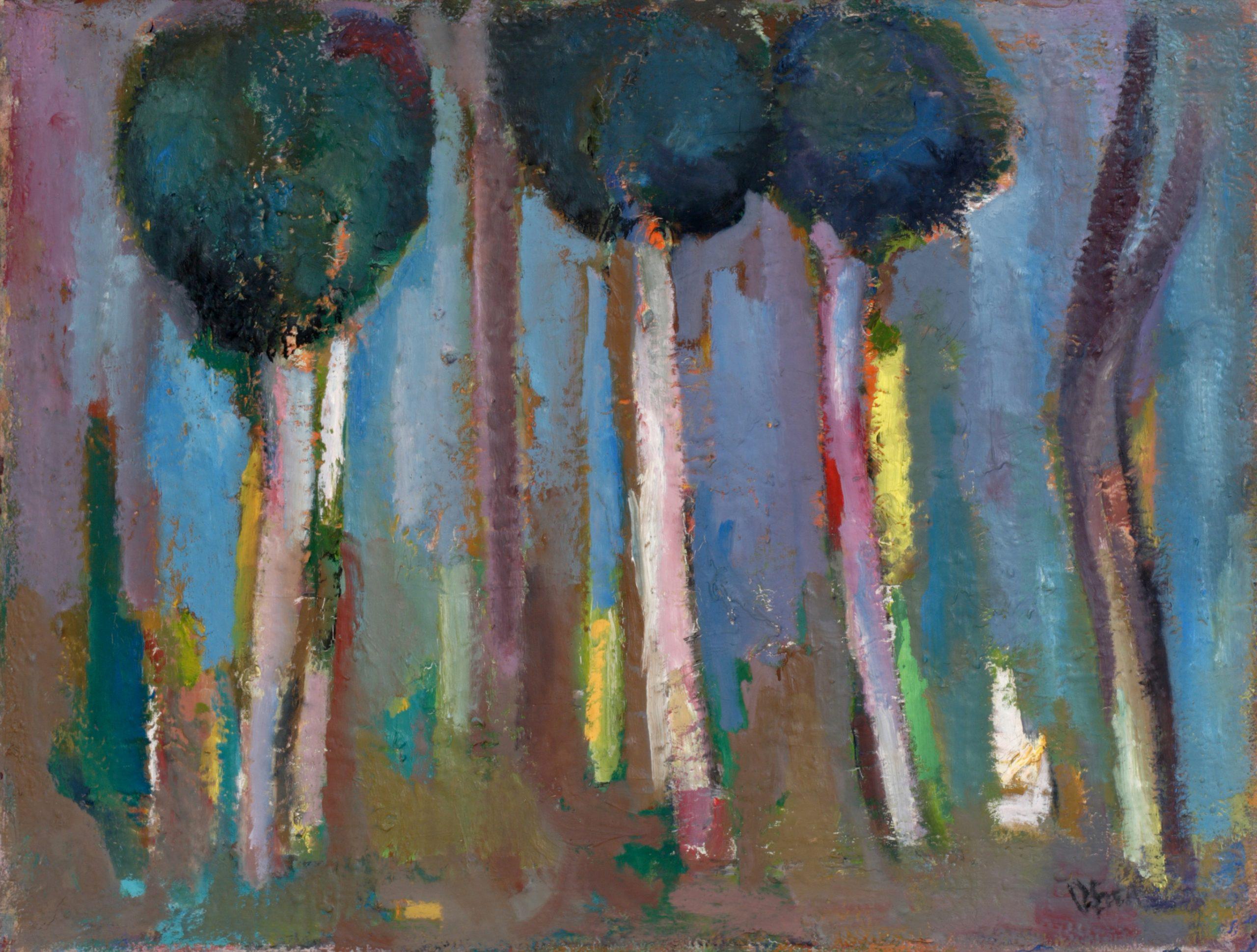 Пейзаж 'Дървета' 2 от Олга Белопитова