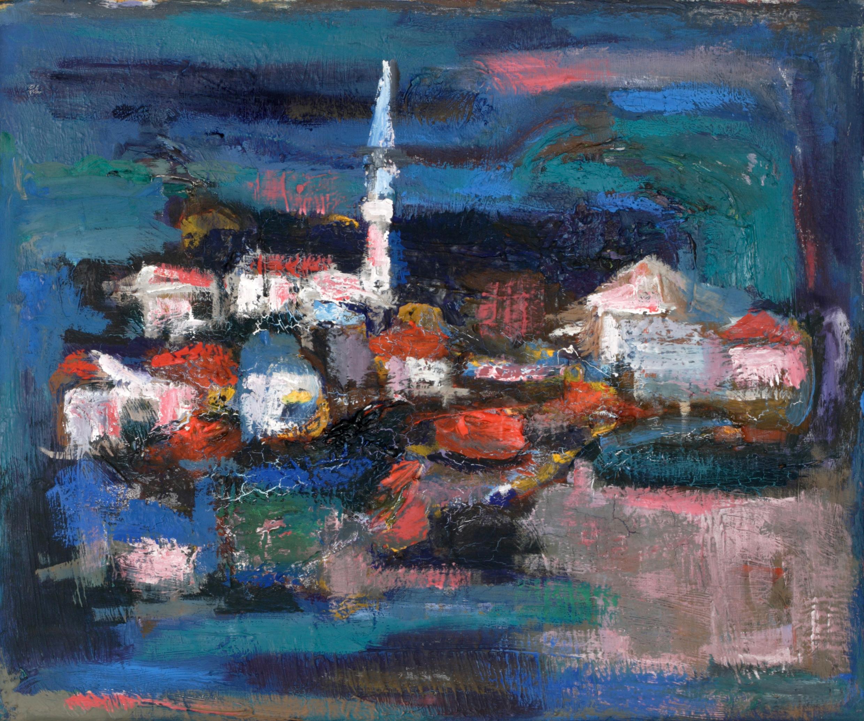 Пейзаж 'Бялата кула' от Олга Белопитов
