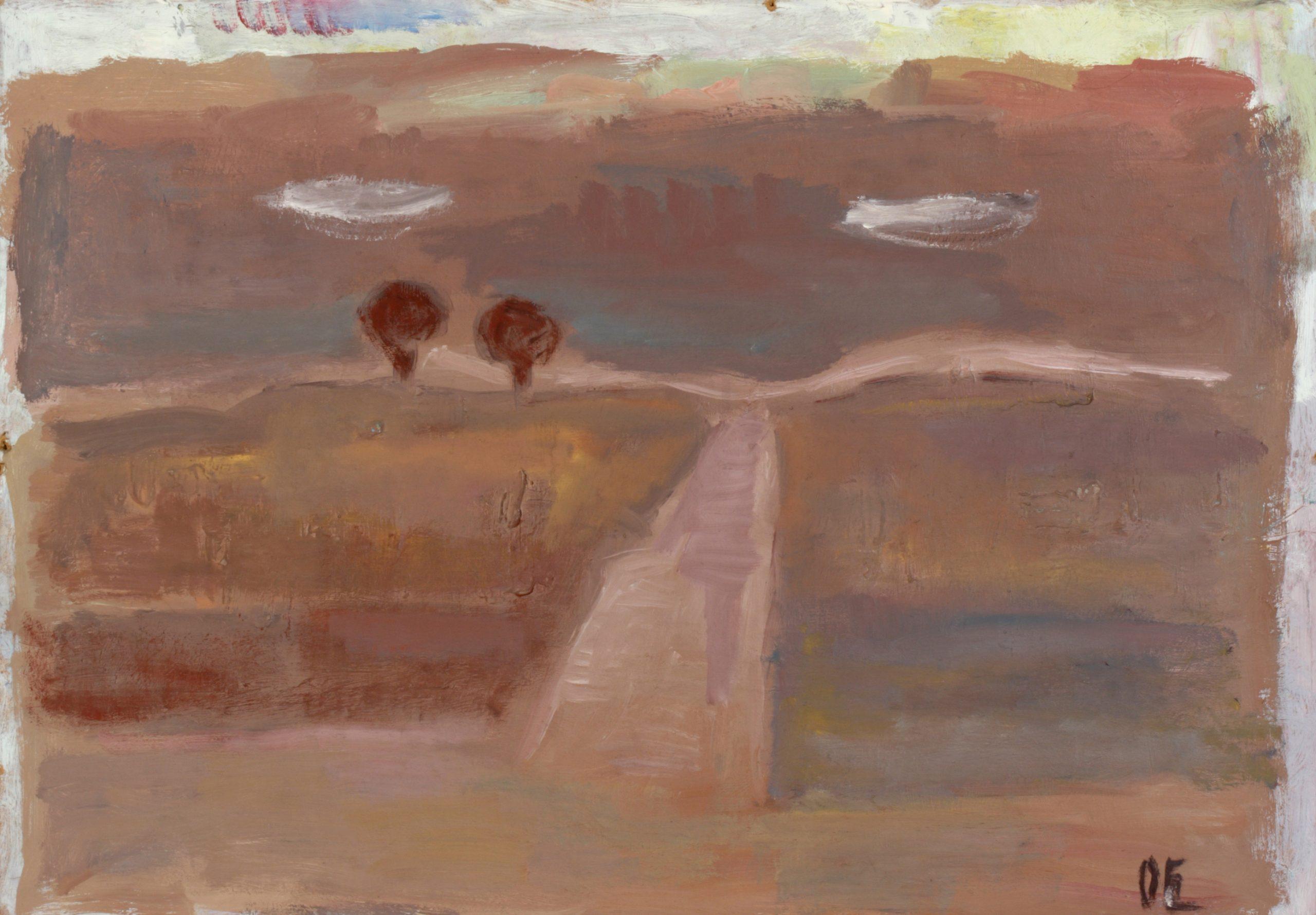 Пейзаж 'Облаци' от Олга Белопитова