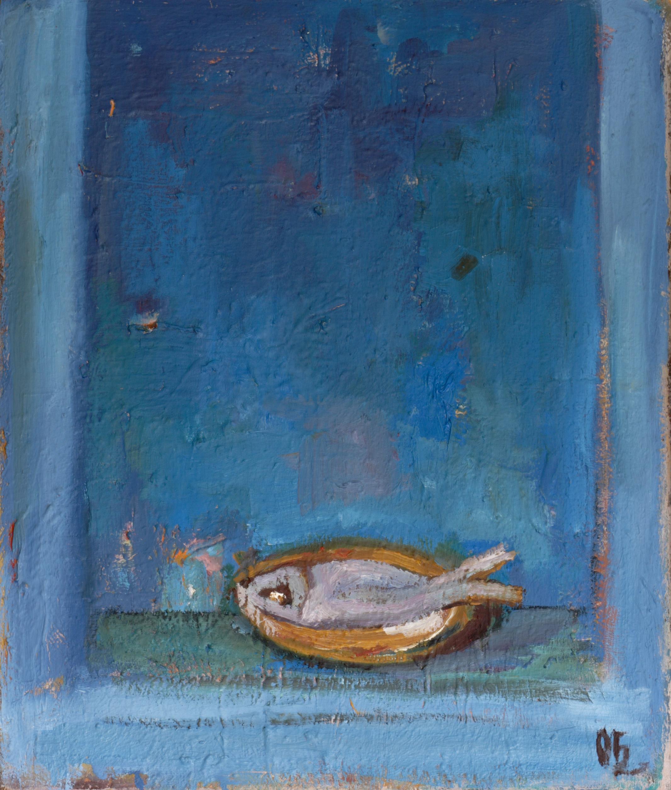 Натюрморт 'Риба' от Олга Белопитова