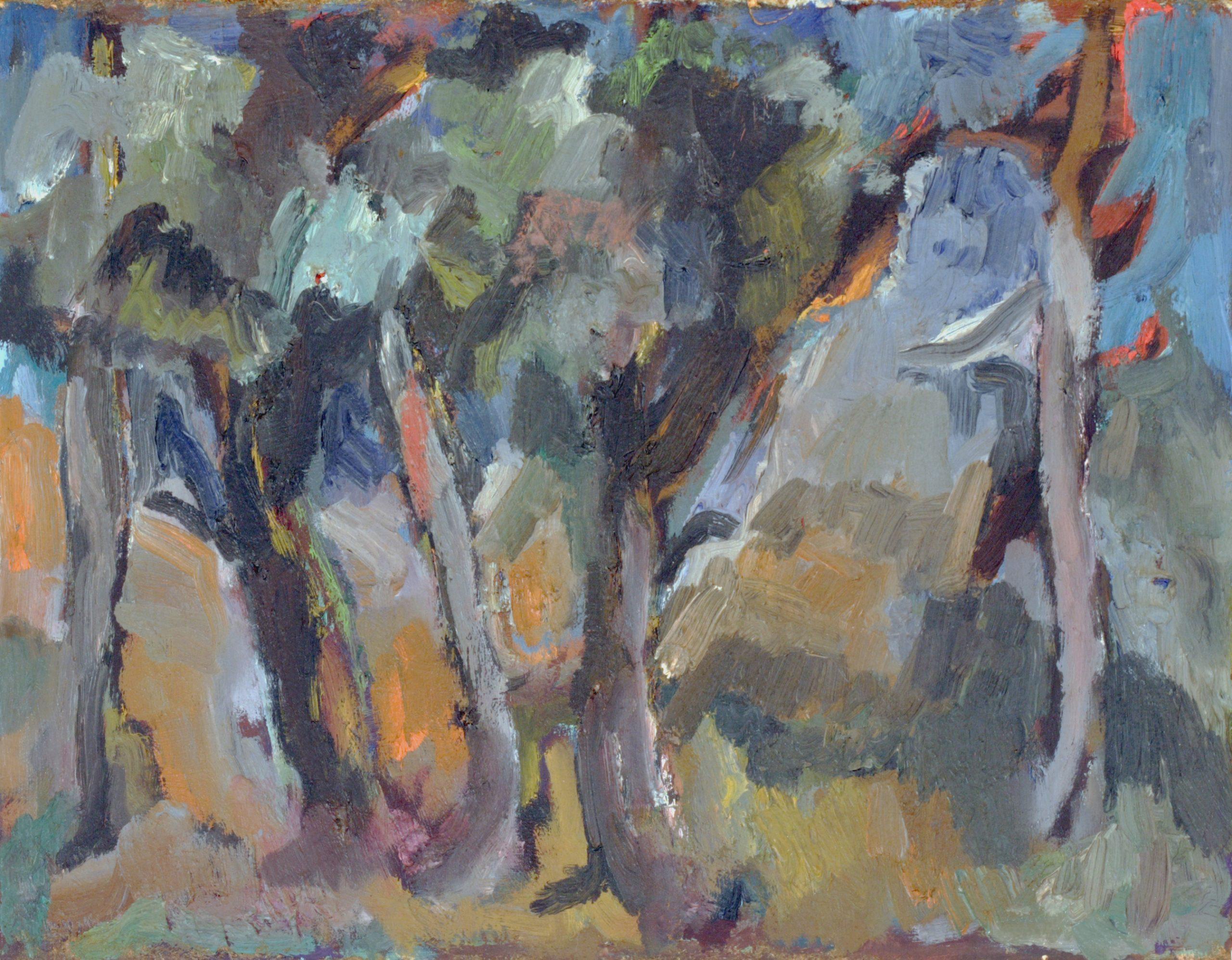 Пейзаж 'Дървета' 3 от Олга Белопитова