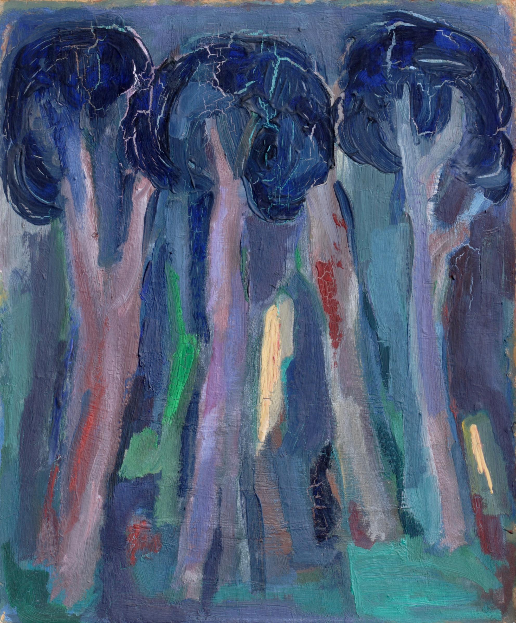 Пейзаж 'Дървета' от Олга Белопитова