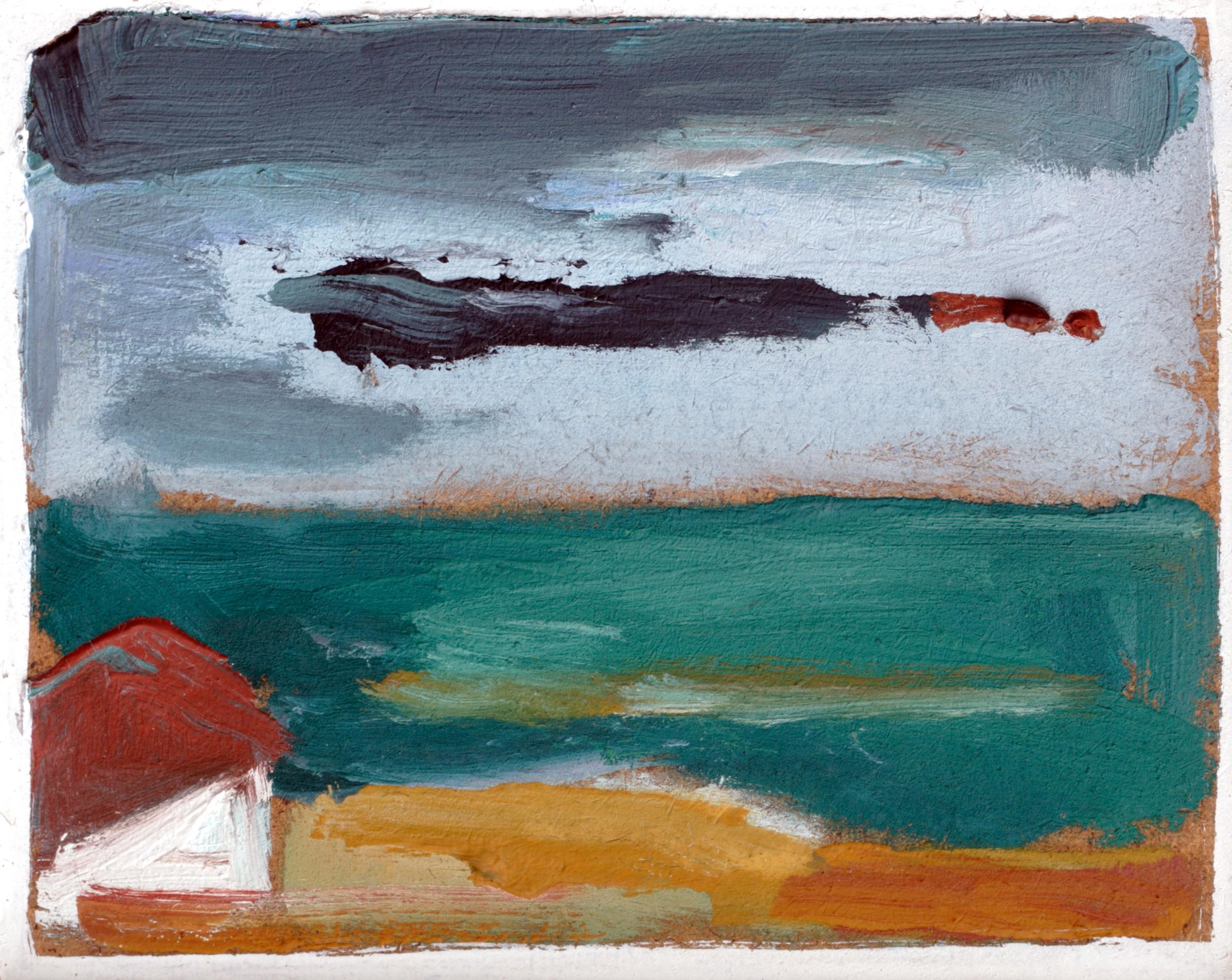 Пейзаж 'Край брега' от Олга Белопитова