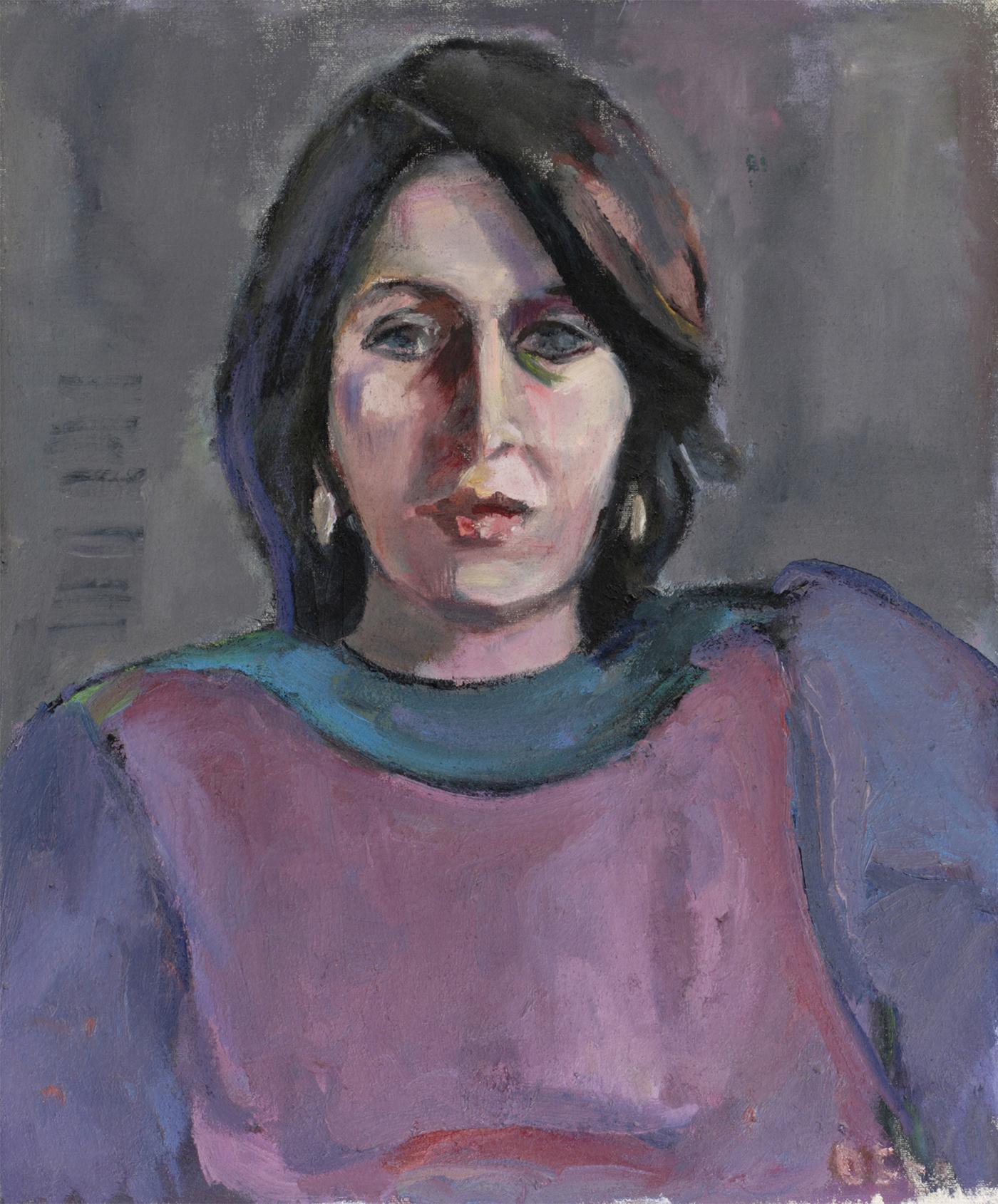 Портрет на Жени Белопитова от Олга Белопитова