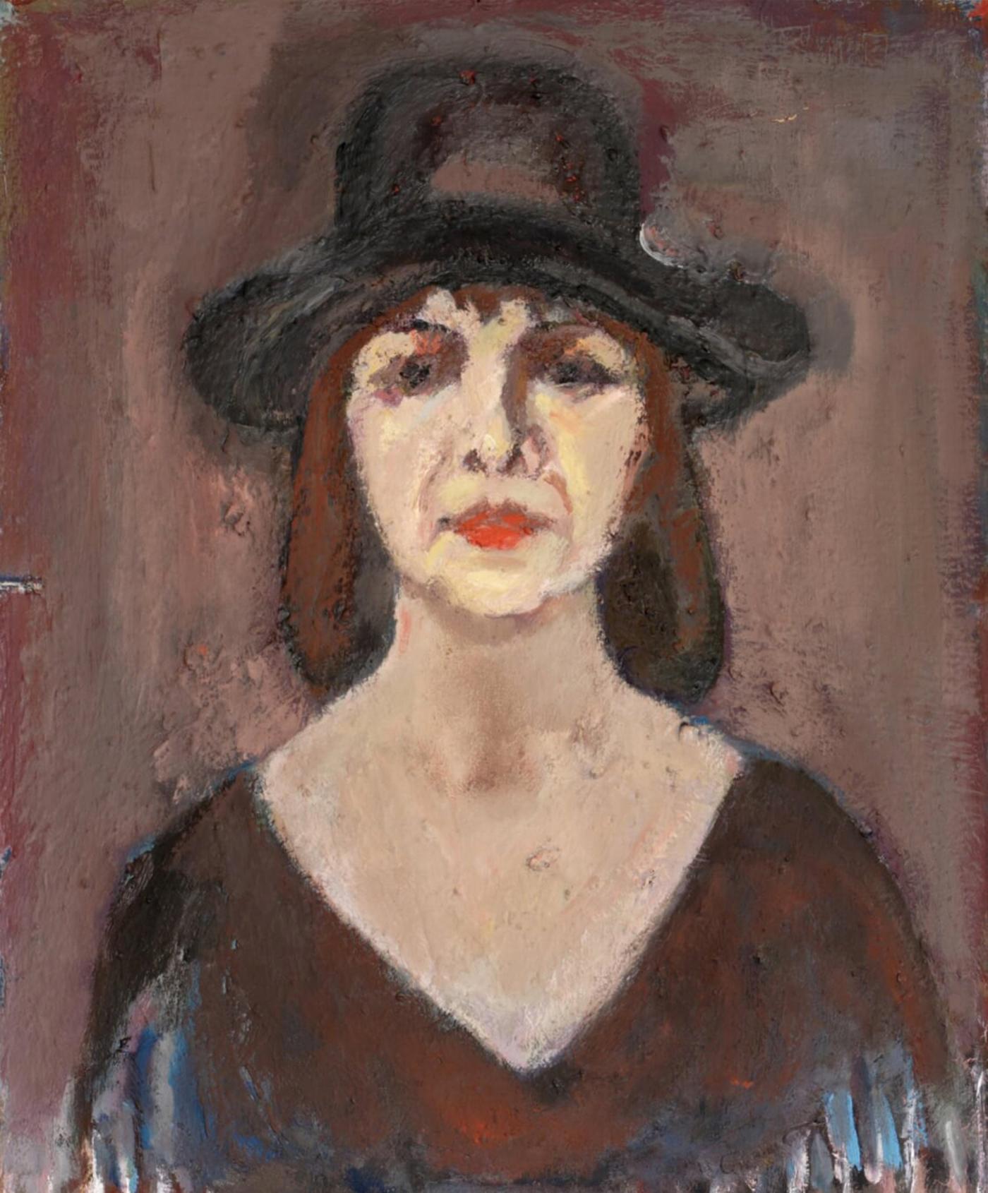Автопортрет на Олга Белопитова
