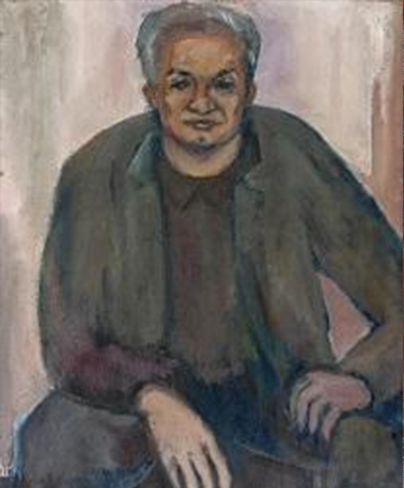 Портрет на Райко Белопитов 2 от Олга Белопитова