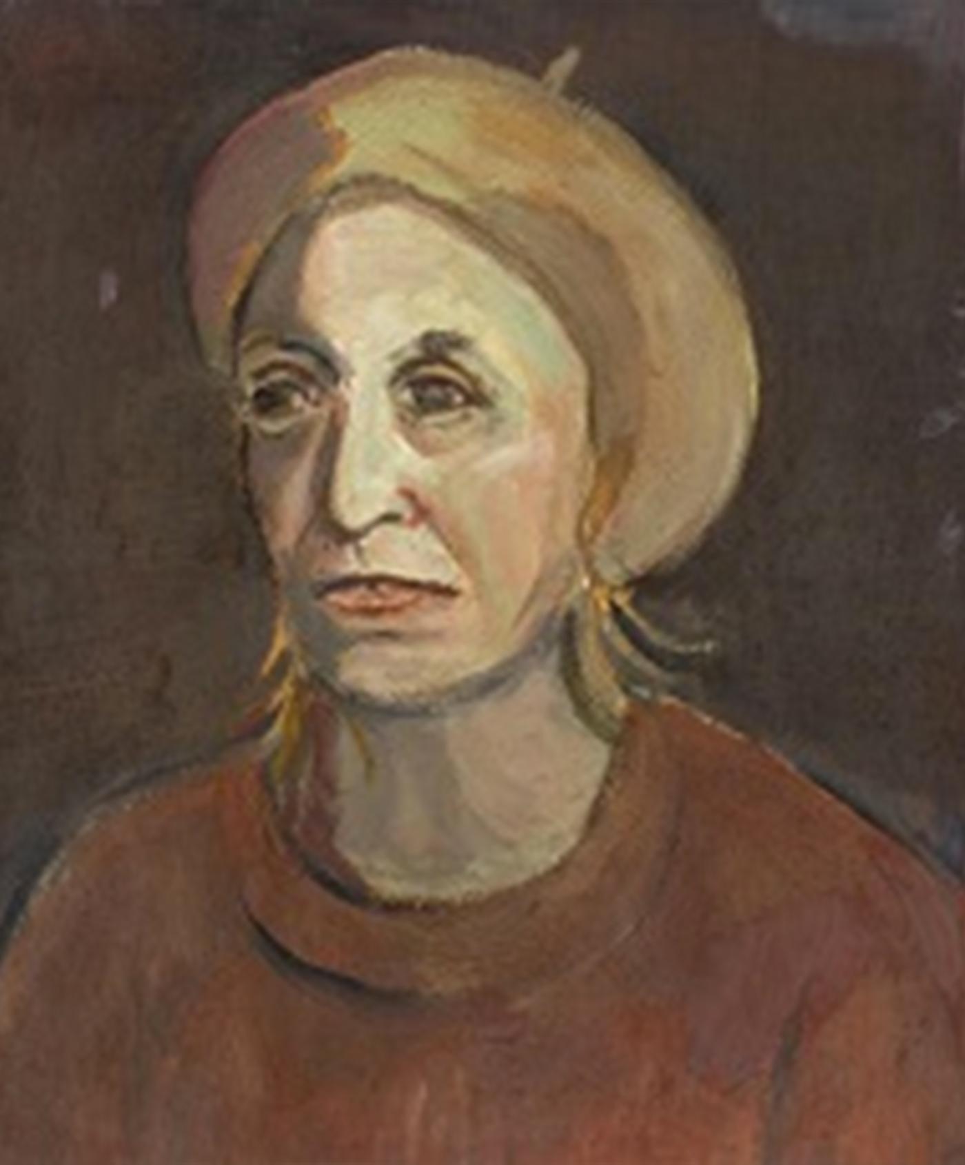 Портрет 'Дама с барета' от Олга Белопитова