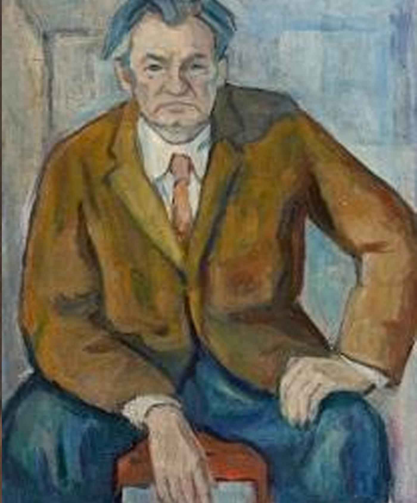 Портрет на Райко Белопитов от Олга Белопитова